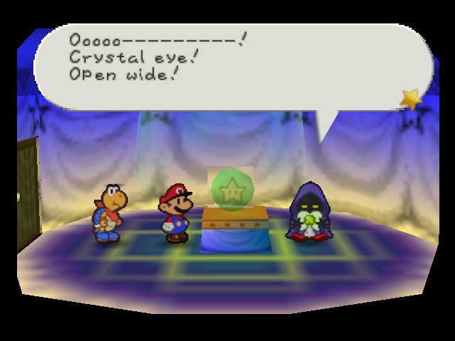 Paper Mario - Location  - where is your crystal eye - User Screenshot
